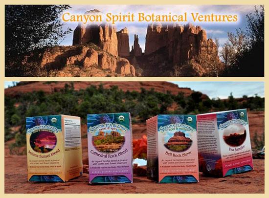 Canyon Spirit Adventures & Sedona Tea Blends - Feather Jones, herbalist