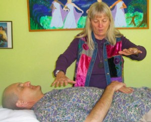 Healing From The Heart - Cynthia Tierra in session