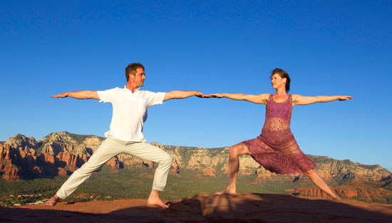 MySedonaYoga - Heather & Marc Titus - Yoga on the Rocks