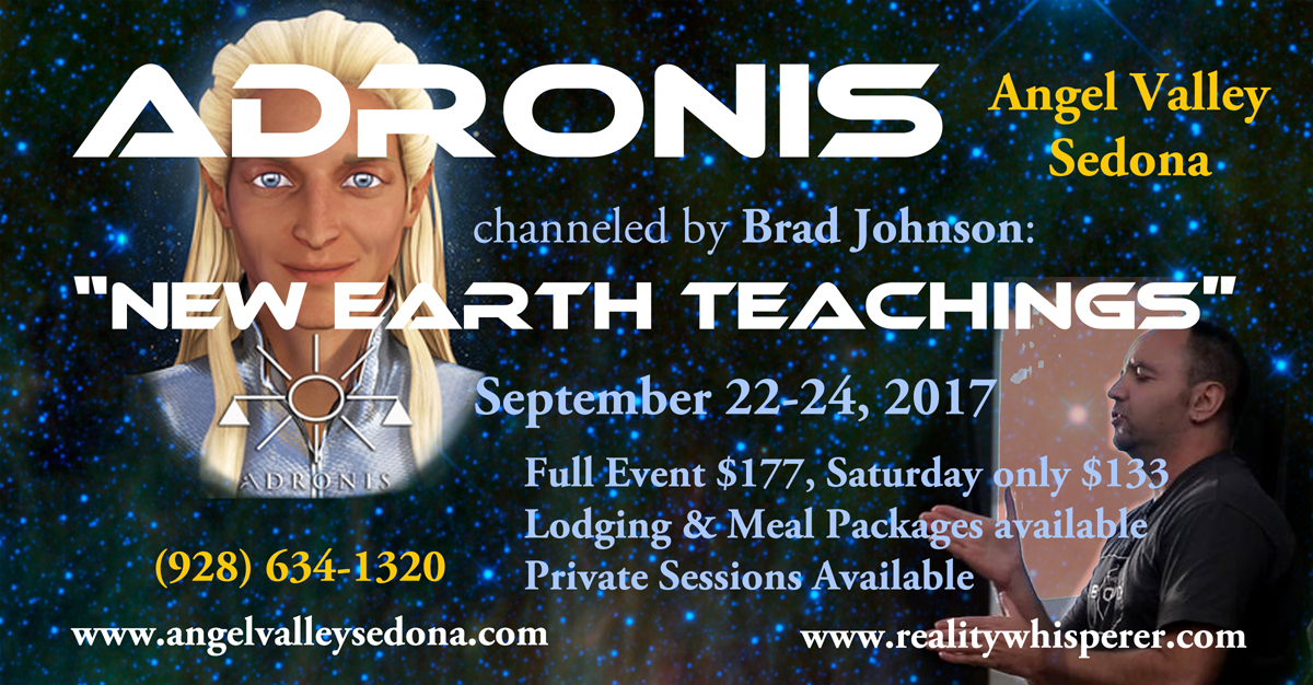 "ME - ""New Earth Teachings"" by Adronis @ Angel Valley Sedona | Sedona | Arizona | United States"